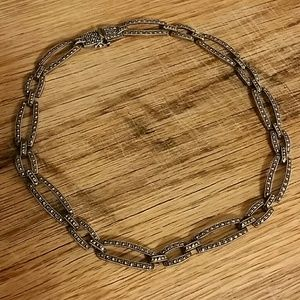 Jewelry - Gorgeous Solid sterling marcasite choker